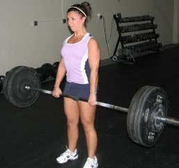 woman barbell lose weight, gain weight