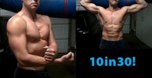 Gain muscle, Lose weight (fat) in a month!