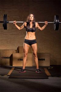 girl_barbell_squat